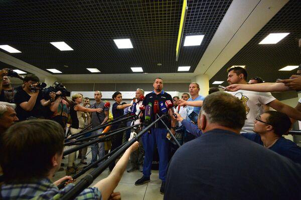 Глава Всероссийского объединения болельщиков (ВОБ) Александр Шпрыгин