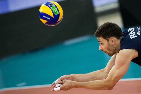 Волейбол. Мировая лига. Тренировка сборной России