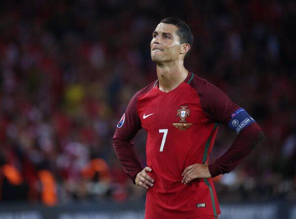 Нападающий сборной Португалии Криштиану Роналду