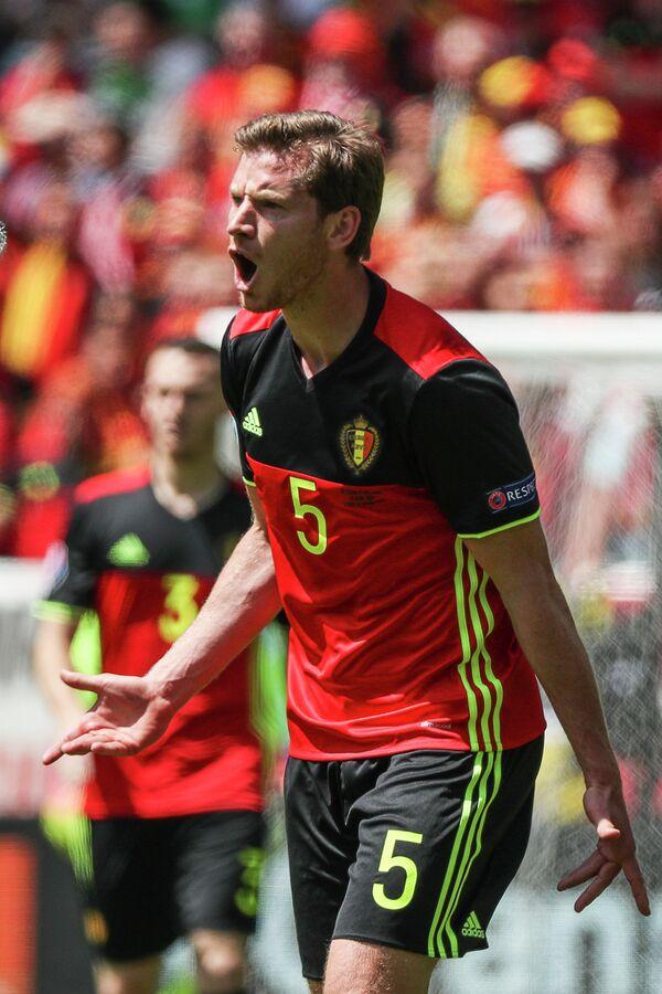 Защитник сборной Бельгии Ян Вертонген
