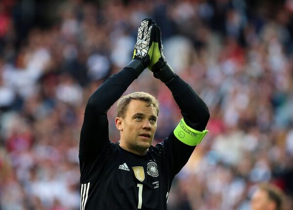 Вратарь сборной Германии Мануэль Нойер