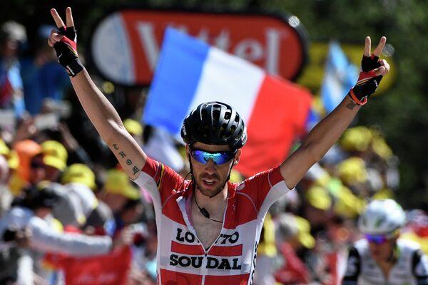Бельгийский велогонщик Томас де Гендт