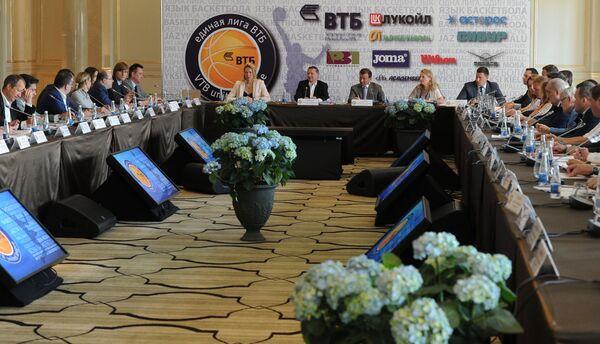 Заседание Совета Единой лиги ВТБ в Москве