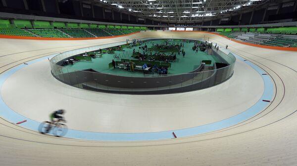 Велотрек в Рио-де-Жанейро, где пройдут Олимпийские игры