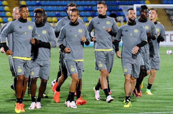 Футболисты Андерлехта на тренировке